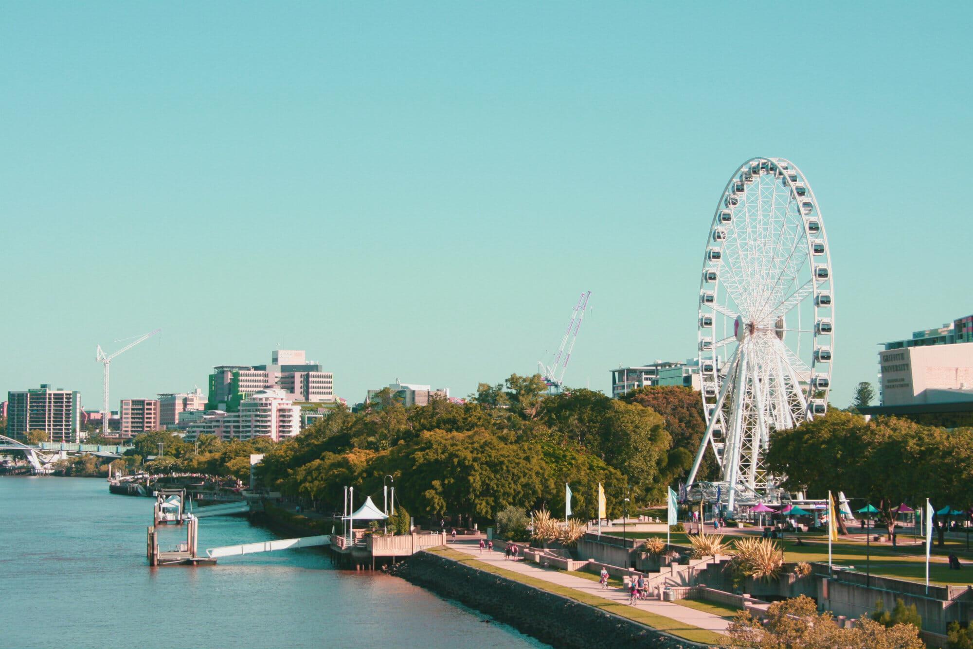 The Brisbane wheel at South Bank, Brisbane, QLD